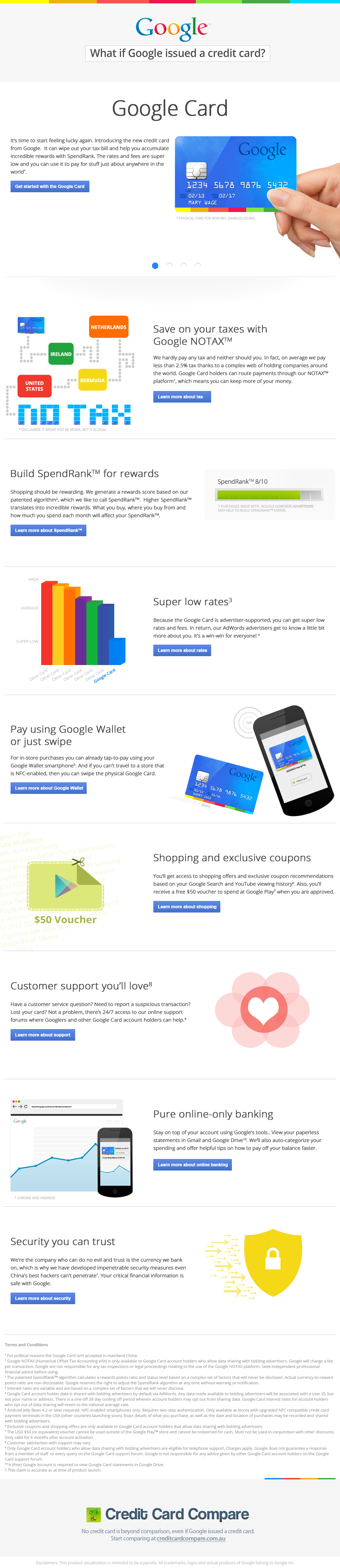 What if Google Made a Credit Card?