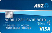 ANZ First Student Credit Card