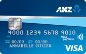 ANZ First Visa Credit Card