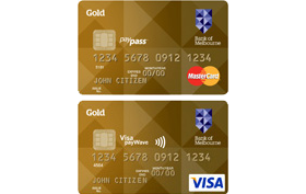 Bank of Melbourne Gold Low Rate Credit Card