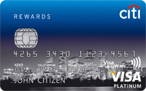 Citi Rewards Credit Card – Platinum