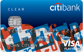 Citibank Clear Platinum Credit Card