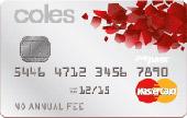 Coles No Annual Fee MasterCard