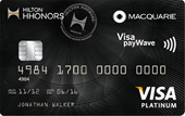 Hilton HHonors Macquarie Platinum Credit Card