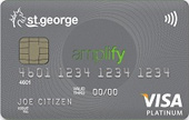 St.George Amplify Platinum Credit Card