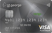 St.George Vertigo Platinum Credit Card
