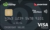 Woolworths Money Qantas Platinum Credit Card