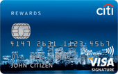 Citi Rewards Signature Credit Card Points Offer
