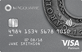 Macquarie Visa Platinum Credit Card